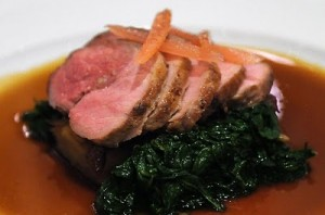 Chef Keller gets his lamb from one source - delicious dish always