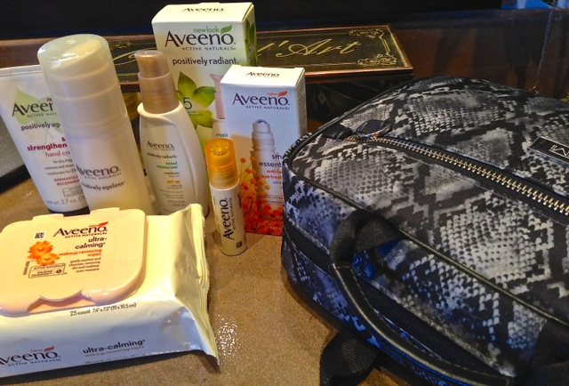 Travel Friendly Aveeno Products