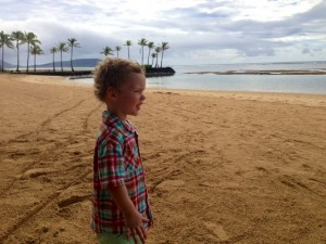JJ on the beach