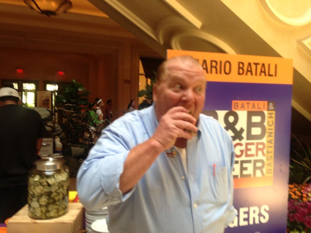 Mario Batali Burger
