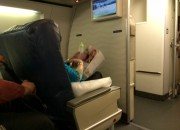 US Airways First Class