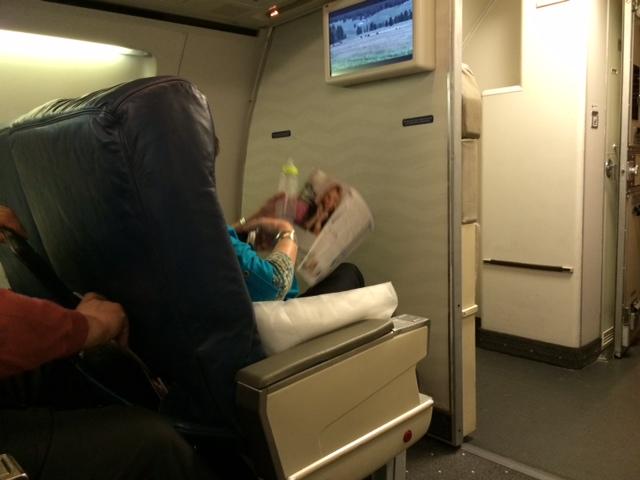 US Airways First Class