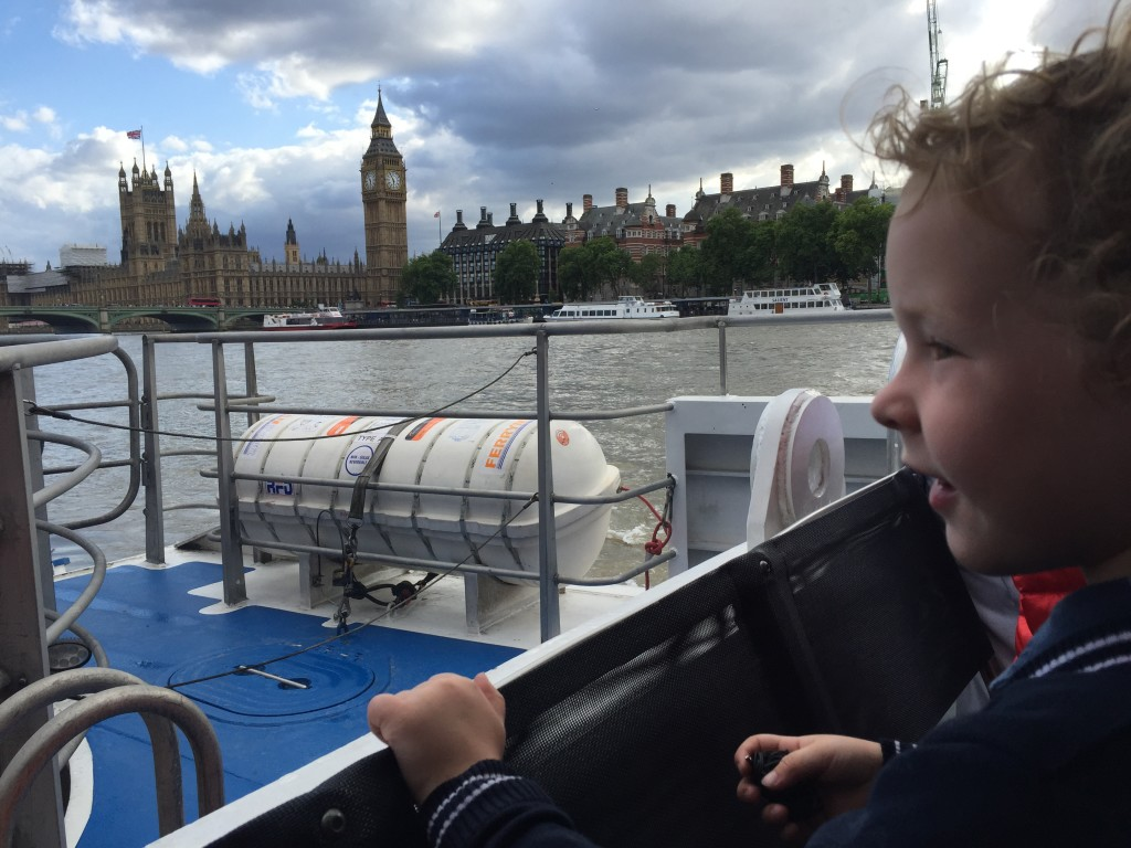 Do you know any child that doesn't enjoy a boat ride? Especially on the Thames