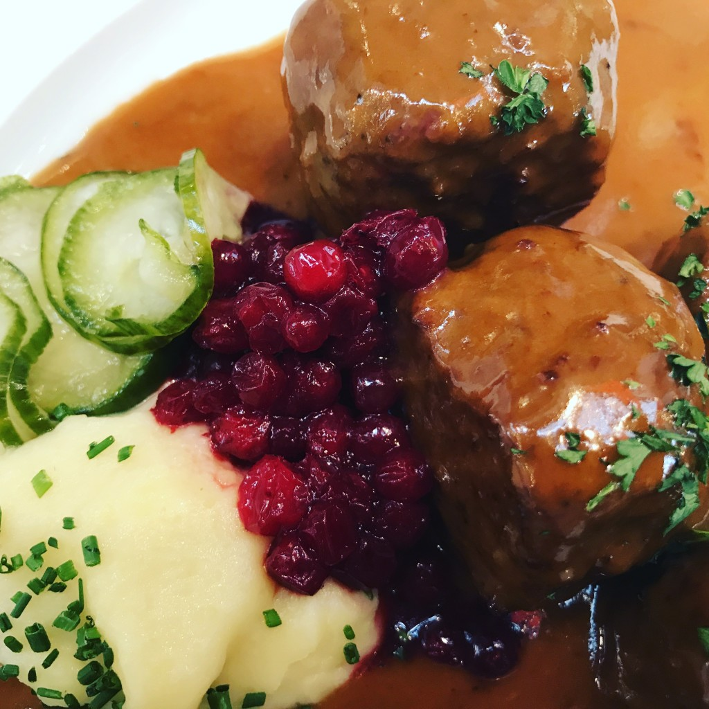 Traditional Swedish Lunch